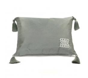 Concierge Silver Filled Cushion