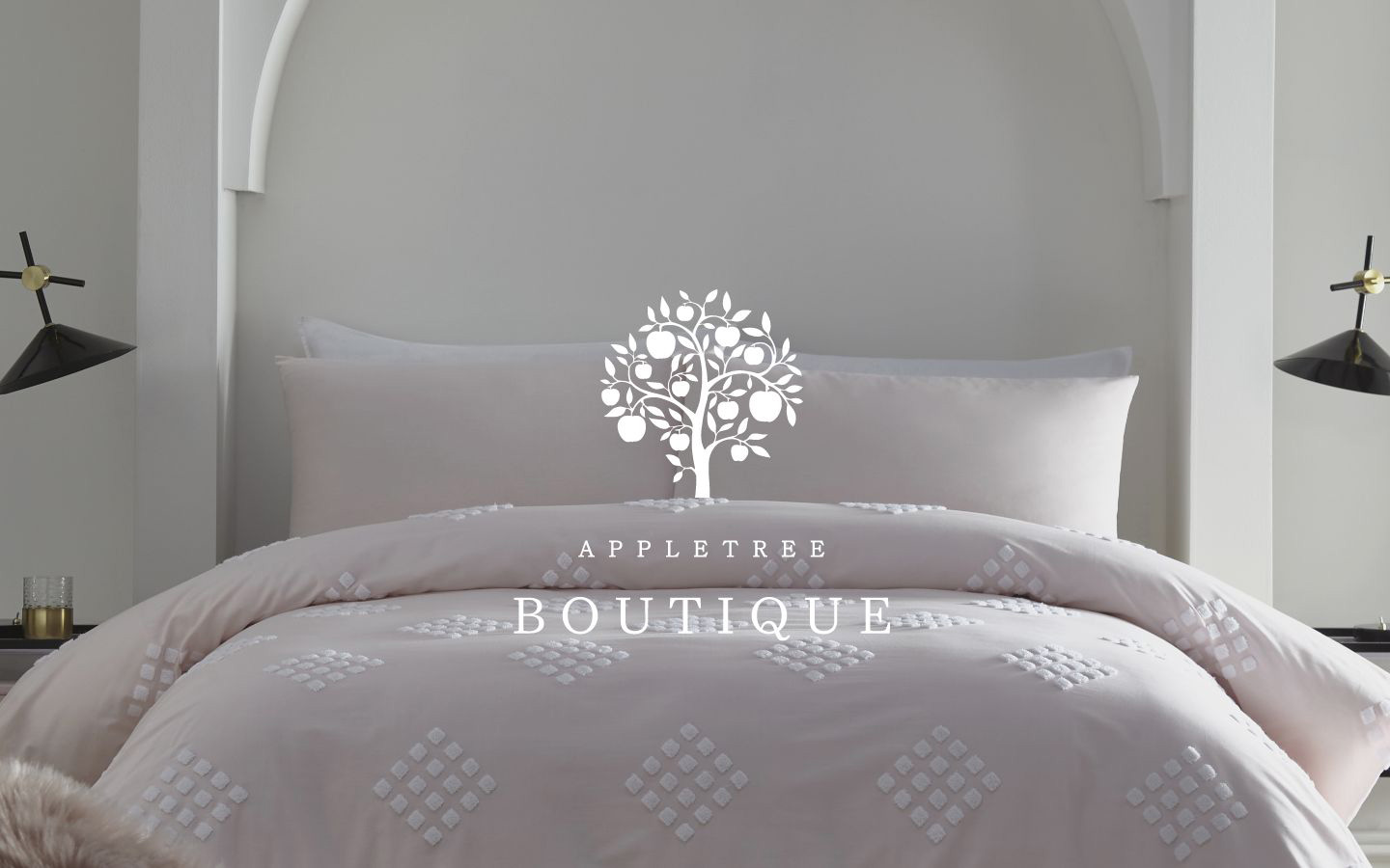 Luxurious Appletree Plain Dye Bedding 100/% Cotton Fitted Percale Bed Sheets